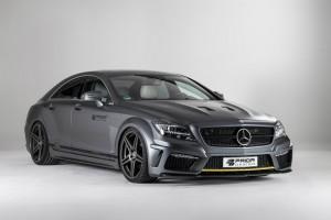 Dank Tuning-Kit von Prior Design wird aus dem Mercedes-Benz CLS der vor Kraft strotzende PD550 Black Edition.