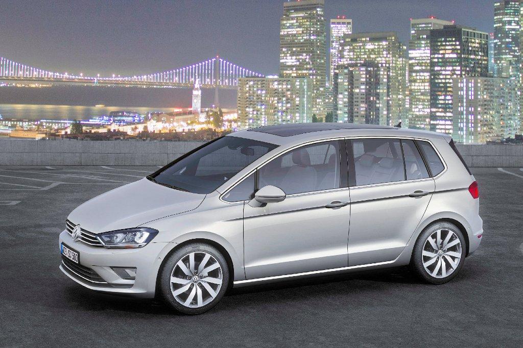 jetzt bestellbar der neue golf sportsvan auto tuning news. Black Bedroom Furniture Sets. Home Design Ideas