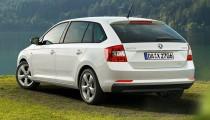 SKODA Rapid: Limousine und Spaceback ab sofort als besonders sparsame GreenLine-Version erhŠltlich
