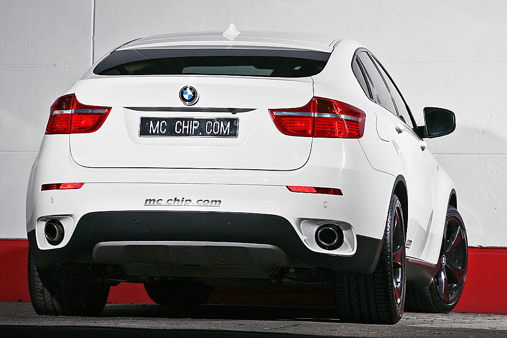 Mc Chip Bmw X6 White Shark Mit 340 Ps Auto Tuning News