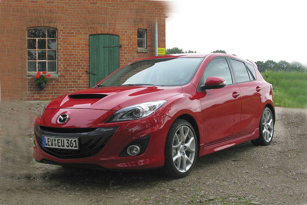 fahrbericht mazda 3 mps familien renner auto tuning news. Black Bedroom Furniture Sets. Home Design Ideas