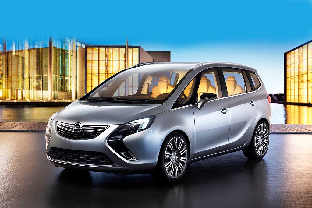 opel zafira tourer concept auto tuning news. Black Bedroom Furniture Sets. Home Design Ideas