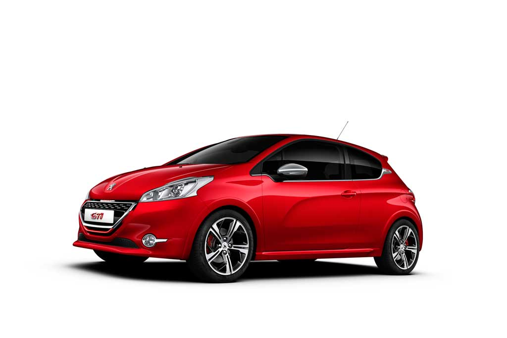 peugeot 208 gti mit 200 ps auto tuning news. Black Bedroom Furniture Sets. Home Design Ideas