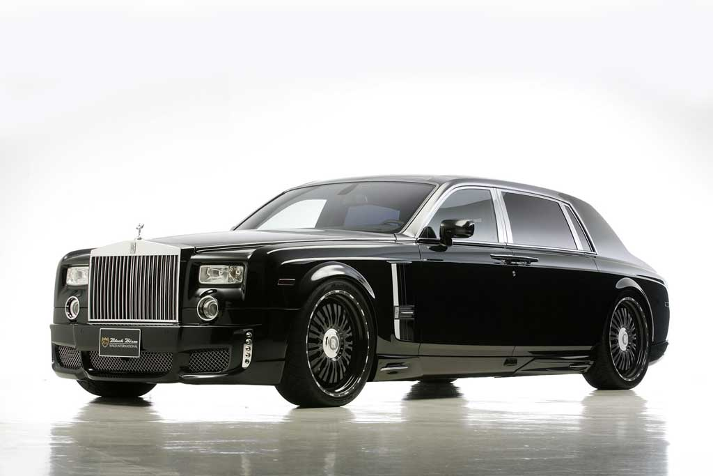 wald rolls royce phantom black beauty auto tuning news. Black Bedroom Furniture Sets. Home Design Ideas