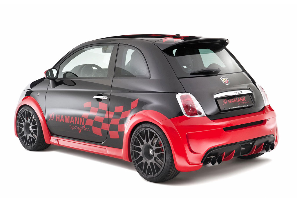 hamann 500 abarth wilde knutschkugel auto tuning news. Black Bedroom Furniture Sets. Home Design Ideas